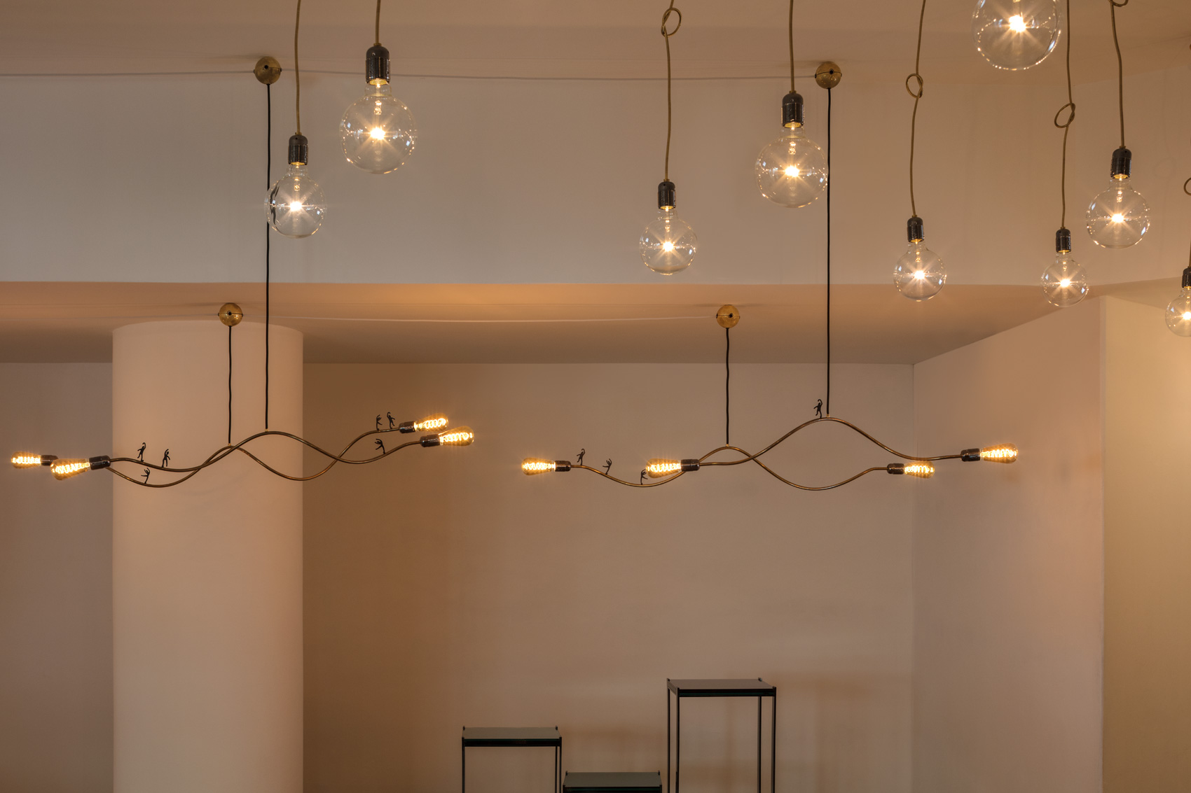 Dilmos, Lighting installation by Enzo Catellani