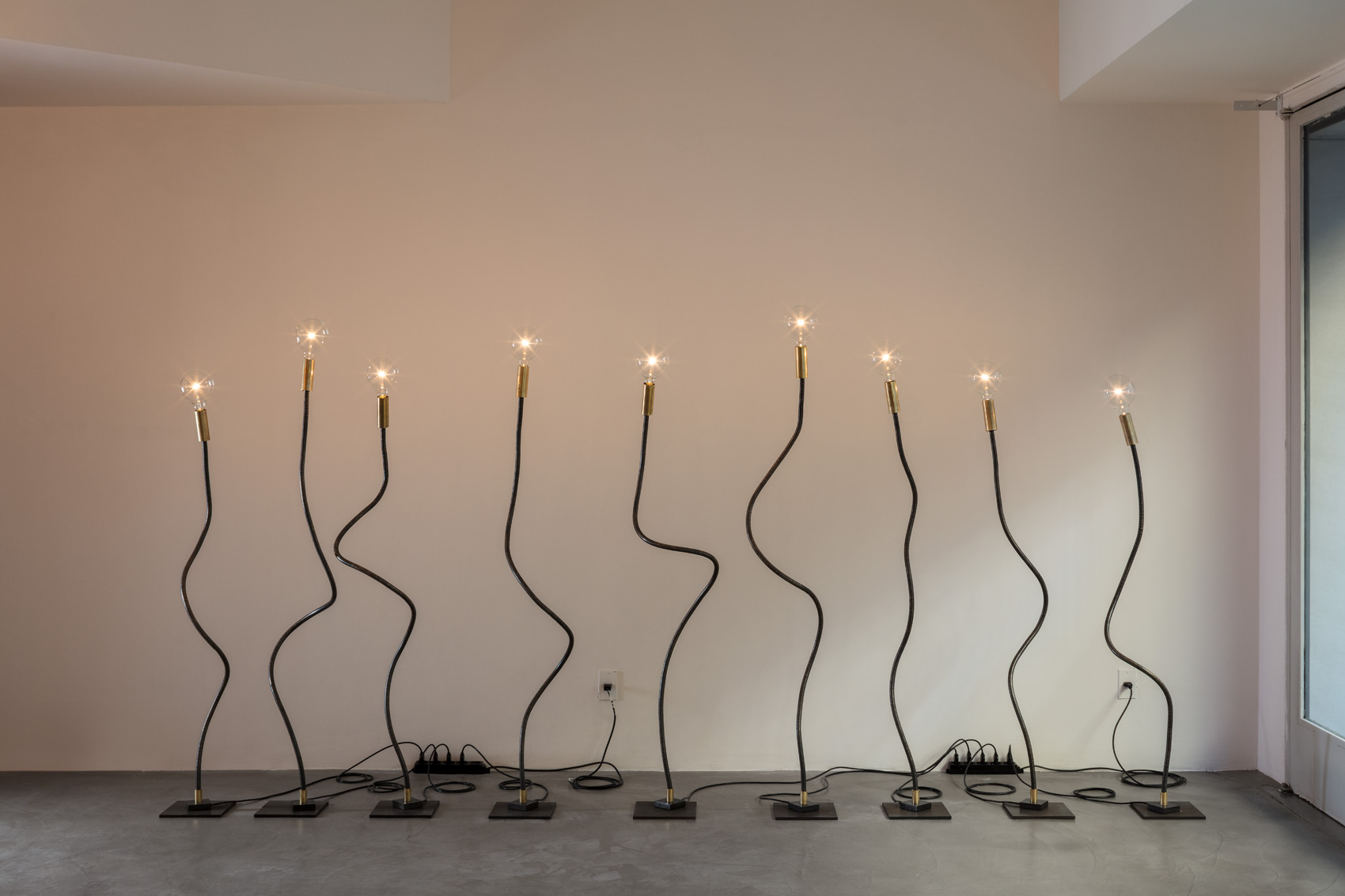 Lighting installation by Enzo Catellani