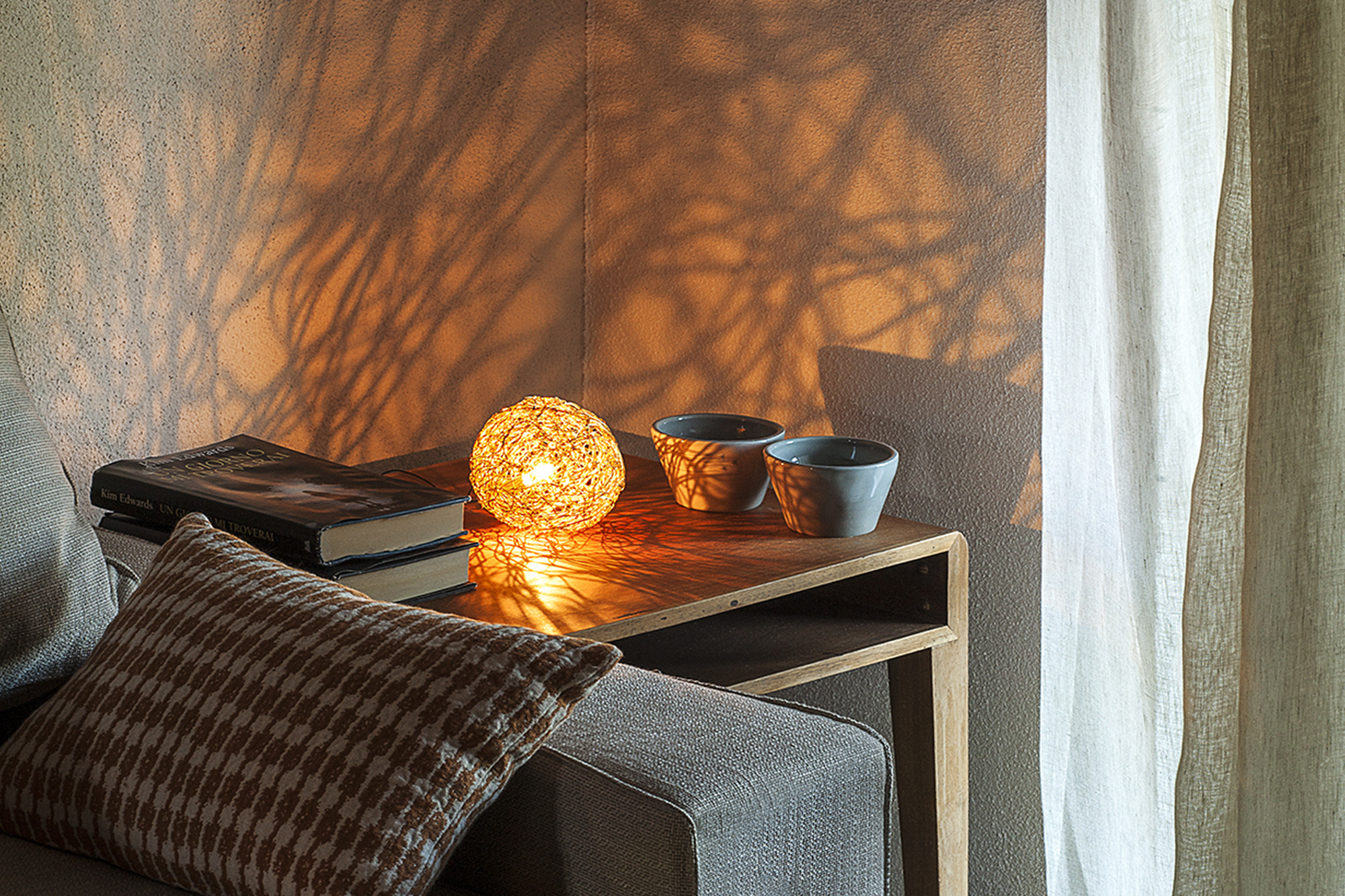 Handcrafted Table Lamp Sweet Light