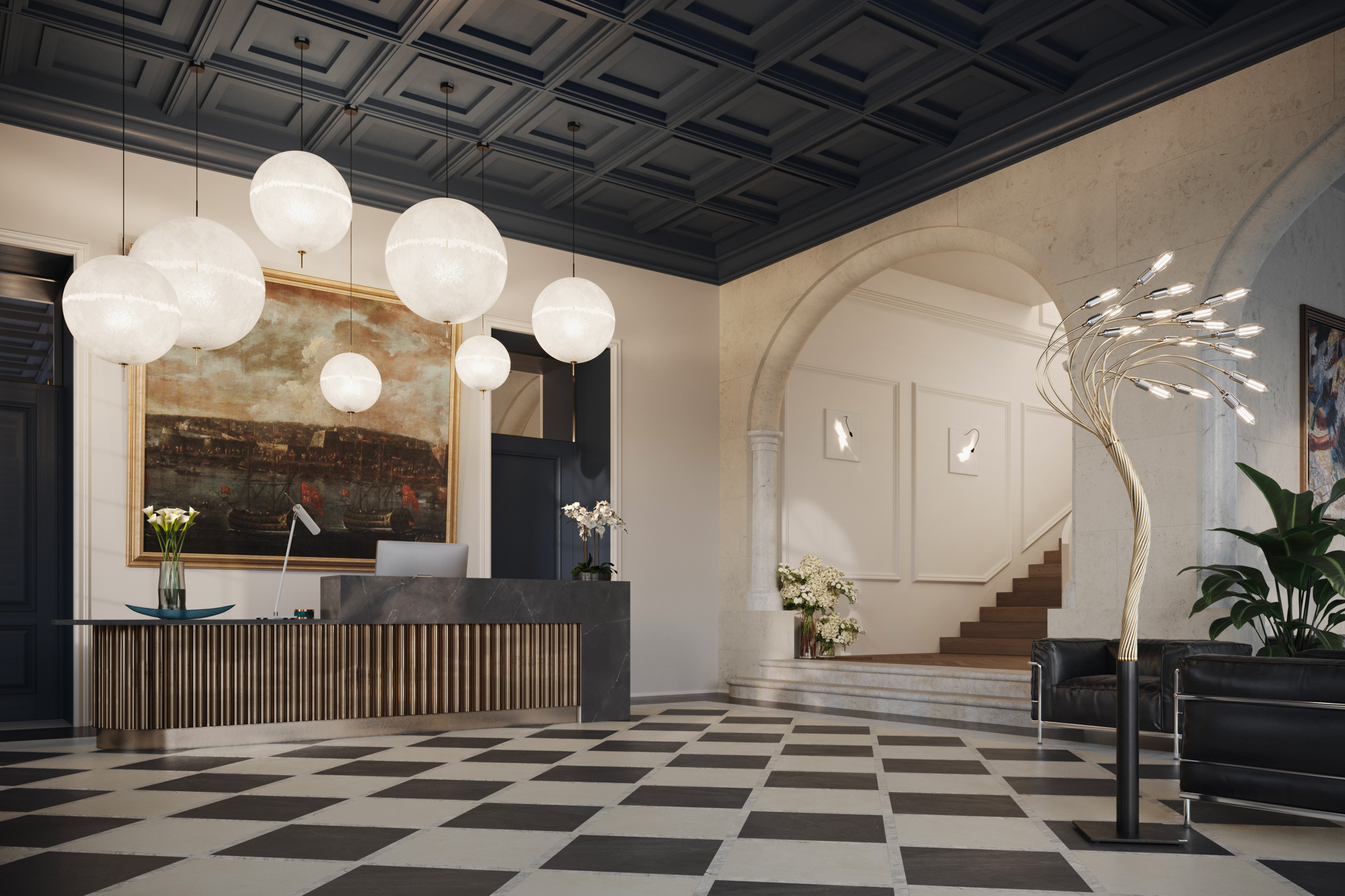 Catellani & Smith Inspiration: A luxury hotel
